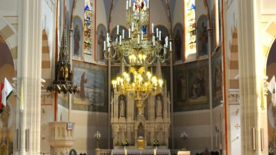 Katolikus templom belülről